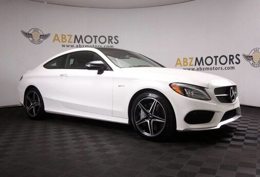 2018 Mercedes-Benz C-Class AMG C 43 Blind Spot,Panoramic,Camera,Heated Seats Houston TX