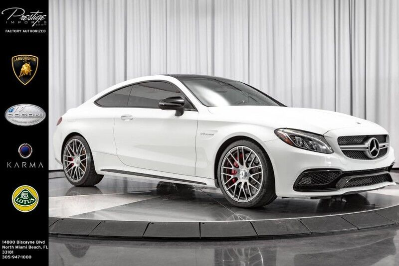 2018 Mercedes-Benz C-Class AMG C 63 S North Miami Beach FL