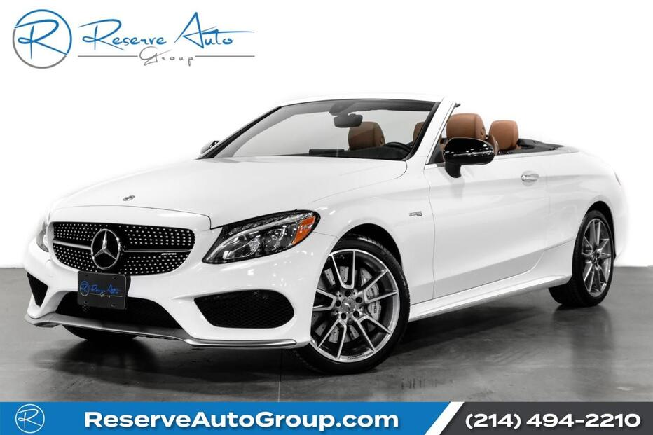 2018_Mercedes-Benz_C-Class_AMG C43 Cabriolet Premium Pkg BlindSpot Multimedia Pkg_ The Colony TX