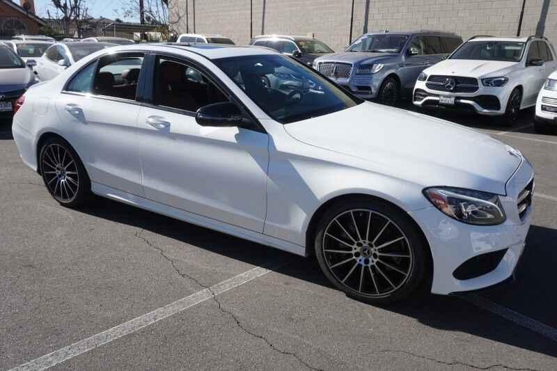 2018 Mercedes-Benz C-Class C 300 (01/18) SPORT / P01 / NIGHT PACKAGE/19AMG Monterey Park CA