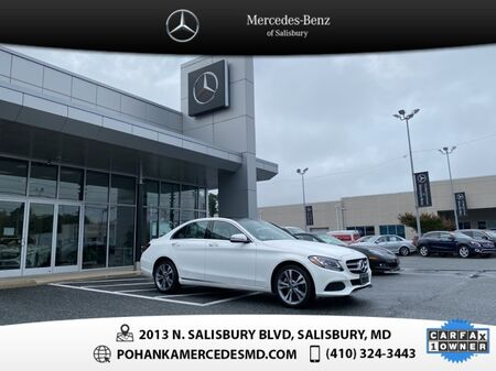 2018_Mercedes-Benz_C-Class_C 300 4MATIC®** ALL WHEEL DRIVE **_ Salisbury MD