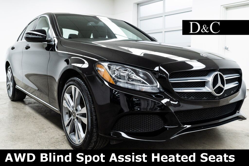 2018 Mercedes-Benz C-Class C 300 4MATIC® Blind Spot Assist Heated Seats Portland OR