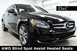 2018_Mercedes-Benz_C-Class_C 300 4MATIC® Blind Spot Assist Heated Seats_ Portland OR