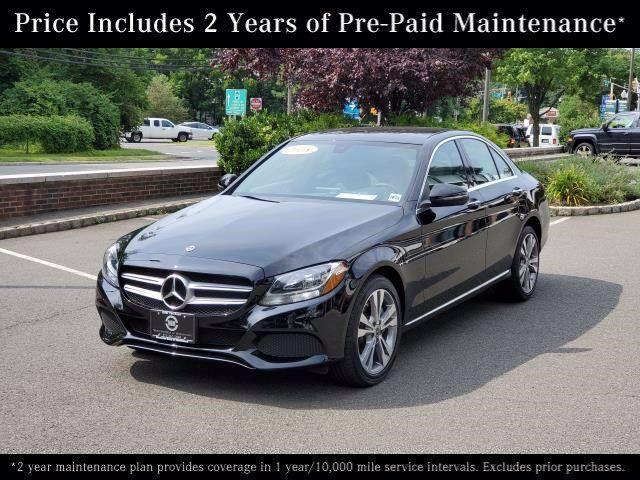 2018 Mercedes-Benz C-Class C 300 4MATIC® Sedan Morristown NJ