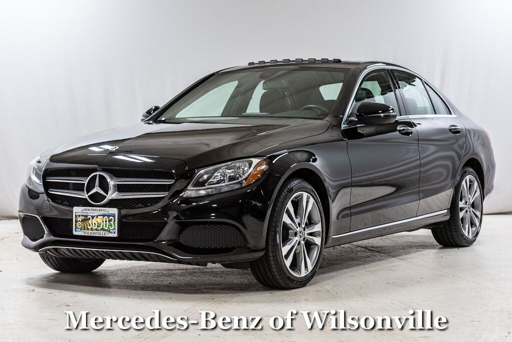 2018 Mercedes-Benz C-Class C 300 4MATIC® Sedan Wilsonville OR