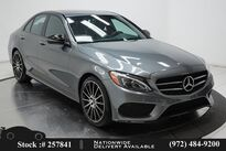 Mercedes-Benz C-Class C 300 AMG SPORT,NIGHT PKG,NAV,CAM,SUNROOF 2018