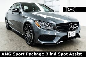 2018_Mercedes-Benz_C-Class_C 300 AMG Sport Package Blind Spot Assist_ Portland OR
