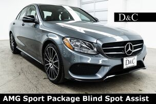 2018 Mercedes-Benz C-Class C 300 AMG Sport Package Blind Spot Assist