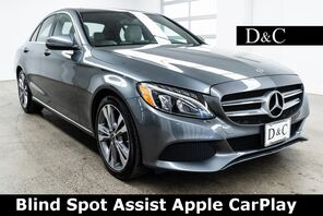 2018_Mercedes-Benz_C-Class_C 300 Blind Spot Assist Apple CarPlay_ Portland OR