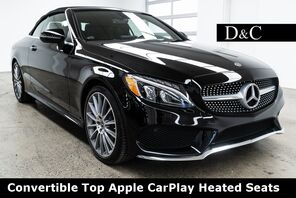 2018_Mercedes-Benz_C-Class_C 300 Convertible Top Apple CarPlay Heated Seats_ Portland OR