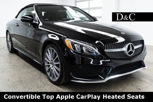 2018 Mercedes-Benz C-Class C 300 Convertible Top Apple CarPlay Heated Seats Portland OR