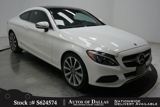 2018_Mercedes-Benz_C-Class_C 300 Coupe NAV,CAM,PANO,19IN WLS,LED LIGHTS_ Plano TX