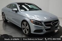 Mercedes-Benz C-Class C 300 Coupe NAV,CAM,PANO,19IN WLS,LED LIGHTS 2018