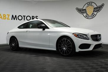 2018_Mercedes-Benz_C-Class_C 300 Coupe Sport AMG Blind Spot Lighting_ Houston TX