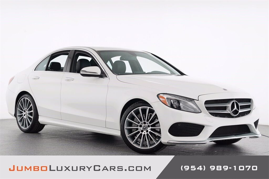 2018 Mercedes-Benz C-Class C 300 Hollywood FL