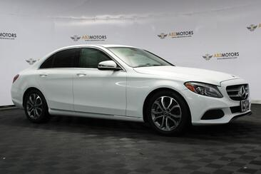 2018_Mercedes-Benz_C-Class_C 300 Moonroof, Lighting Package, Rear View Cam!_ Houston TX