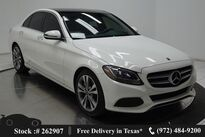 Mercedes-Benz C-Class C 300 NAV READY,CAM,PANO,HTD STS,18IN WHLS 2018