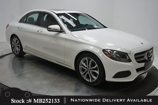 2018_Mercedes-Benz_C-Class_C 300 NAV READY,CAM,SUNROOF,17IN WHLS_ Plano TX