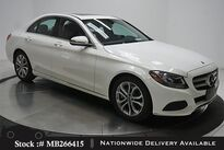 Mercedes-Benz C-Class C 300 NAV READY,CAM,SUNROOF,17IN WHLS 2018