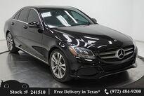 Mercedes-Benz C-Class C 300 NAV READY,CAM,SUNROOF,BLIND SPOT,18IN WLS 2018