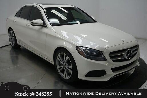 2018_Mercedes-Benz_C-Class_C 300 NAV READY,CAM,SUNROOF,HTD STS,18IN WHLS_ Plano TX