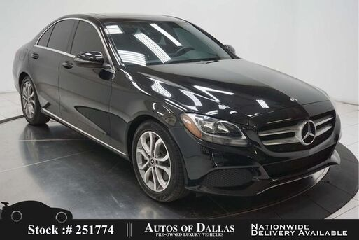 2018_Mercedes-Benz_C-Class_C 300 NAV,CAM,SUNROOF,BLIND SPOT,17IN WLS_ Plano TX