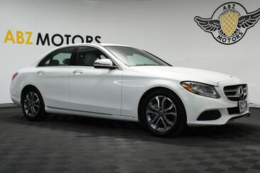 2018_Mercedes-Benz_C-Class_C 300 P1 Pkg,Blind Spot,Camera,Apple Play,Heated Seats_ Houston TX