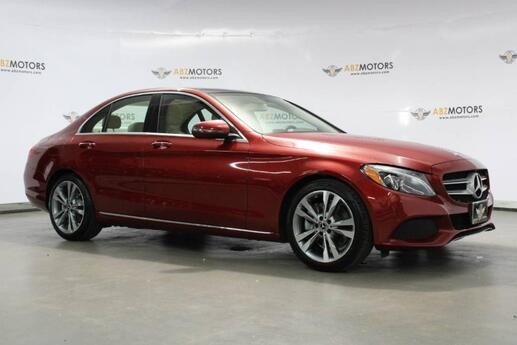 2018 Mercedes-Benz C-Class C 300 Pano,Smartphone Integrated,Rearview Cam Houston TX