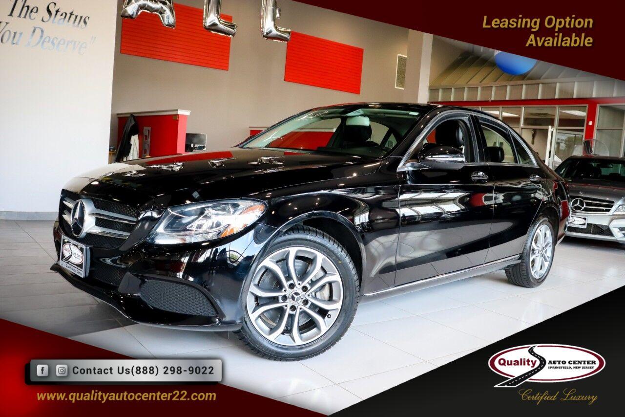 2018 Mercedes-Benz C-Class C 300 Premium Pkg, Comfort Suspension Springfield NJ