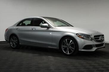 2018_Mercedes-Benz_C-Class_C 300 Sport Pano Roof Blind Spot Rear View Camera_ Houston TX