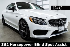 2018_Mercedes-Benz_C-Class_C 43 AMG 4MATIC 362 Horsepower Blind Spot Assist_ Portland OR