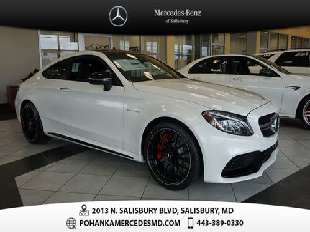2018_Mercedes-Benz_C-Class_C 63 S AMG®_ Salisbury MD