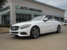 2018_Mercedes-Benz_C-Class_C300 Convertible LEATHER, BLIND SPOT MONITOR, BACKUP CAMERA, BLUETOOTH CONNECTIVITY_ Plano TX