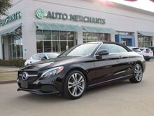 2018_Mercedes-Benz_C-Class_C300 Convertible*BACK UP CAMERA,BLIND SPOT MONITOR,NAVIGAION SYSTEM,UNDER FACTORY WARRANTY!_ Plano TX