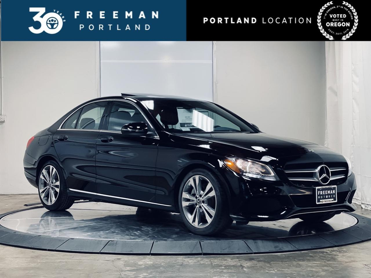 2018 Mercedes-Benz C300 Blind Spot Assist Heated Seats Apple Car Play Portland OR