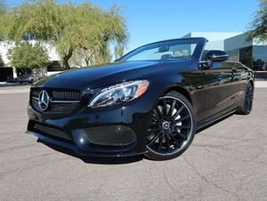 2018_Mercedes-Benz_C300_Cabriolet Night Edition_ Scottsdale AZ