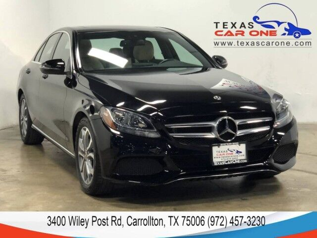 2018 Mercedes-Benz C300 SPORT NAVIGATION SUNROOF LEATHER HEATED SEATS REAR CAMERA KEYLESS GO Carrollton TX