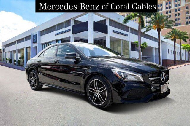 2018 Mercedes-Benz CLA 250 4MATIC® COUPE Coral Gables FL