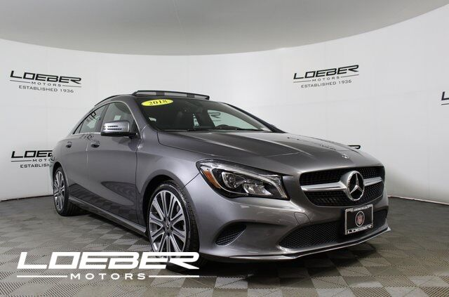 2018 Mercedes-Benz CLA 250 4MATIC® COUPE Lincolnwood IL