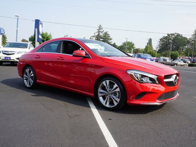 2018 Mercedes Benz Cla 250 4matic 174 Coupe Salem Or 20129508