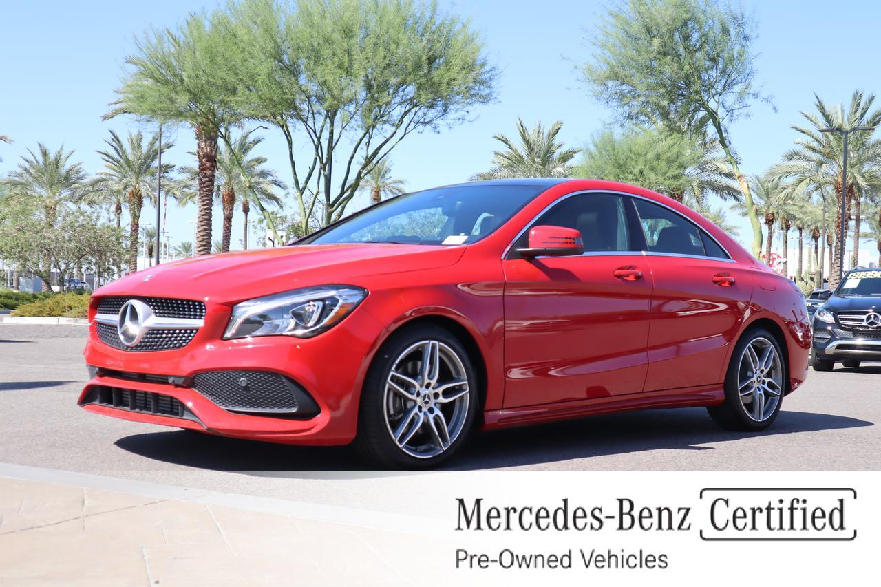 2018 Mercedes-Benz CLA 250 4MATIC® COUPE Gilbert AZ
