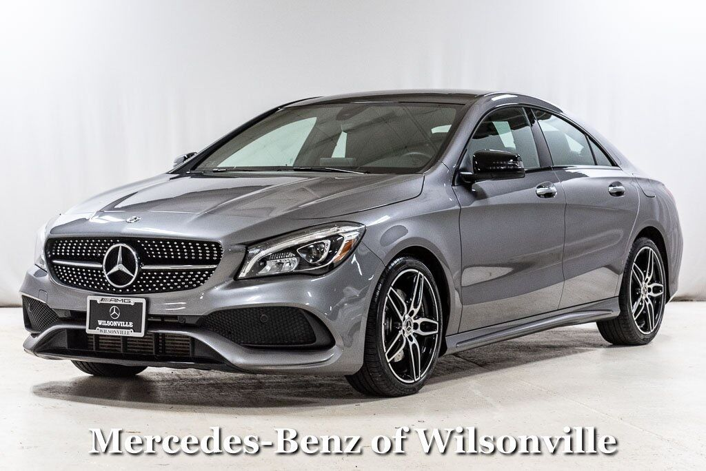 2018 Mercedes-Benz CLA 250 4MATIC® COUPE Wilsonville OR