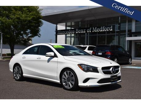 2018_Mercedes-Benz_CLA_250 4MATIC® COUPE_ Medford OR