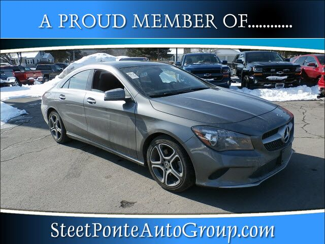 2018 Mercedes-Benz CLA 250 CLA 250 4MATIC Yorkville NY