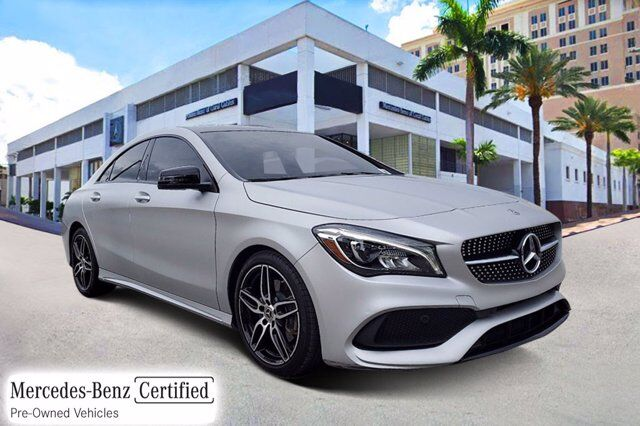 2018 Mercedes-Benz CLA 250 COUPE # Y7164 Coral Gables FL
