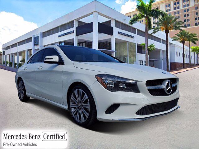 2018 Mercedes-Benz CLA 250 COUPE # Z240 Coral Gables FL