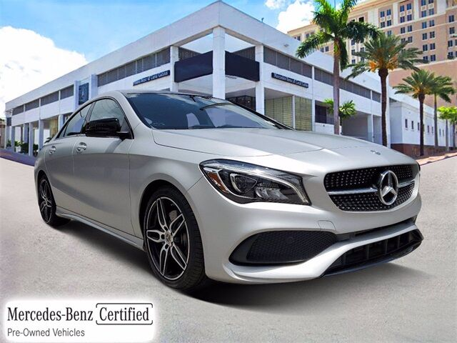 2018 Mercedes-Benz CLA 250 COUPE Coral Gables FL