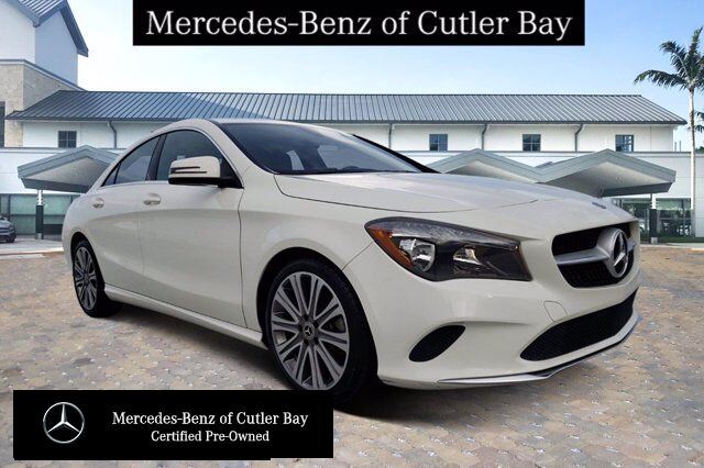 2018 Mercedes-Benz CLA 250 COUPE # V908CB Cutler Bay FL
