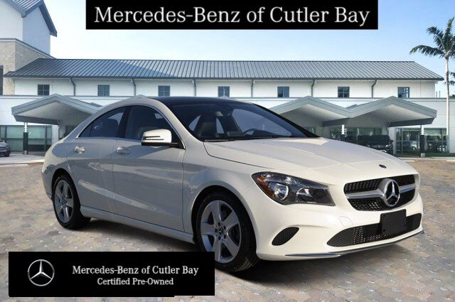 2018 Mercedes-Benz CLA 250 COUPE U11046CB Cutler Bay FL