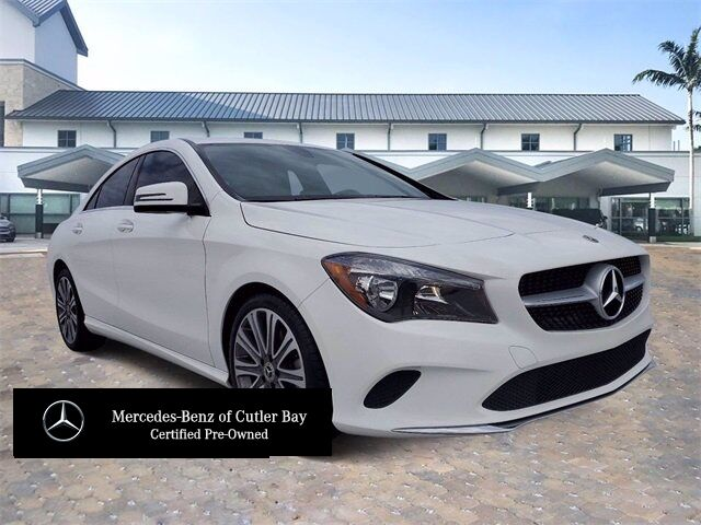 2018 Mercedes-Benz CLA 250 COUPE # W478CB